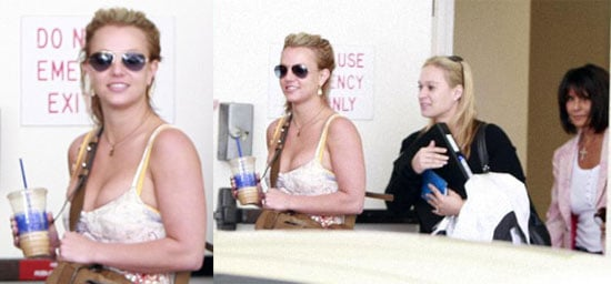 Britney Continues to Stay on Track
