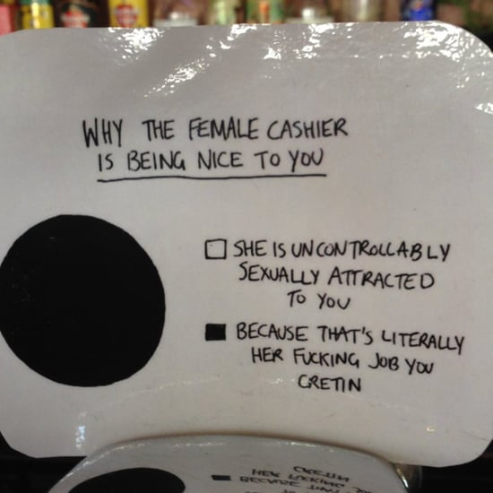 Bar Sign About Why Bartender Is Nice to Customers