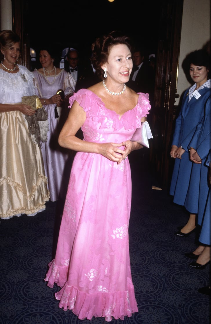 princess margaret arrived for a performance of swan lake