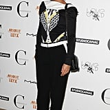 Leigh Lezark was print-perfect at the London Mademoiselle C screening.