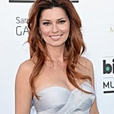 A redheaded Shania Twain walked the red carpet donning some sweet, inky black liner.