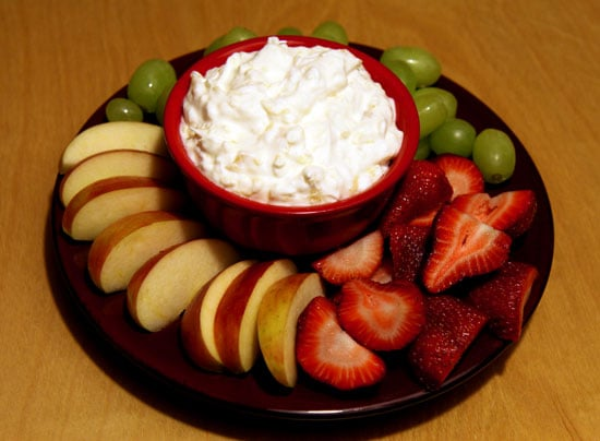Fruit With Pineapple Ginger Dip