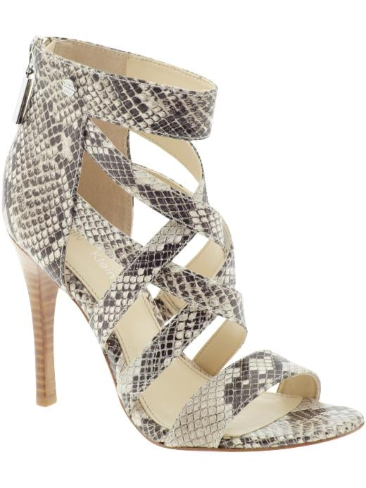 Calvin Klein Snake Heel ($100, originally $149) Why: These are just crazy sexy. Snake print? Strappy heel? Done.