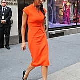 Victoria Beckham was in NYC for Fashion's Night Out 2012.