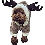 Fleece Pet Reindeer Costume
