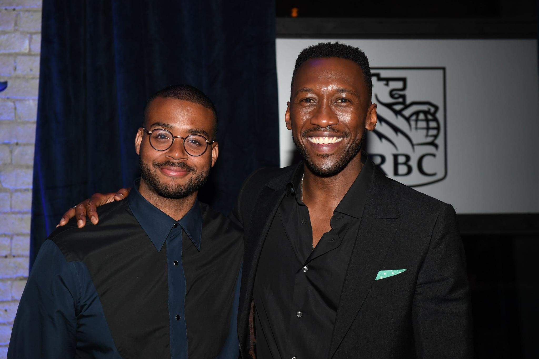 TORONTO, ON - SEPTEMBER 11:  Kris Bowers and Mahershala Ali attend RBC hosted