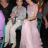 Katy Perry brought her grandmother as her date to the May 2012 Billboard Music Awards.