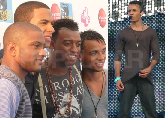 Exclusive Photos Of Marvin, Oritse, JB and Aston From JLS On Stage And Backstage At T4 On The Beach 2009