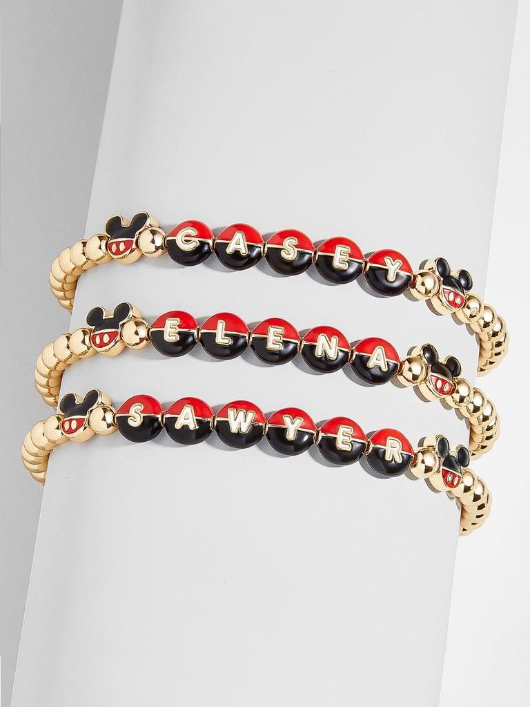 BaubleBar Mickey Mouse Custom Pisa Bracelet
