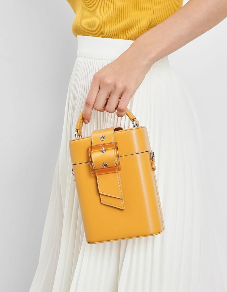 Charles & Keith Statement Buckle Top Handle Bag ($79)
