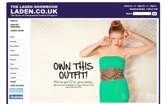Laden Showrooms Site for Independent Fashion Designers and Brands