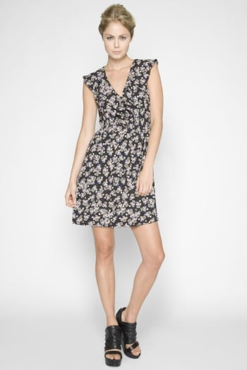 Bcbgeneration Printed Flounce Dress ($69, originally $88)