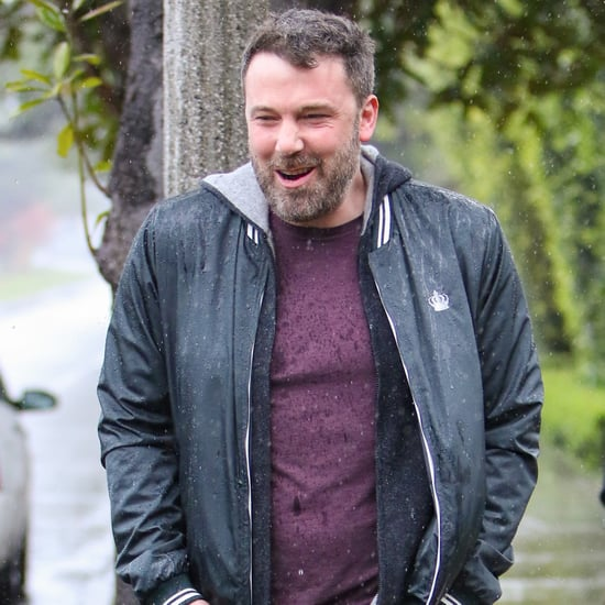 Ben Affleck Out in the Rain in LA March 2017