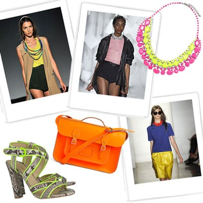 Neon Clothes and Accessories For Spring 2012