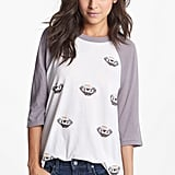 A weekend-ready baseball tee ($50, originally $77) printed with diamonds? Thank you, Wildfox.