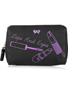 Anya Hindmarch's Canvas Cosmetics Case ($80)