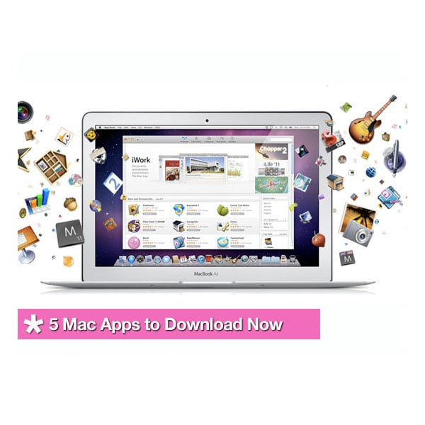 Mac App Store is Open, 5 Apps You Need Now