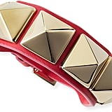Valentino Rockstud Leather Bracelet ($295)