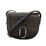 3.1 Phillip Lim Alix Snakeskin Saddle Bag, Nude/Black ($975)