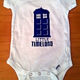 Little Timelord Onesie ($15)