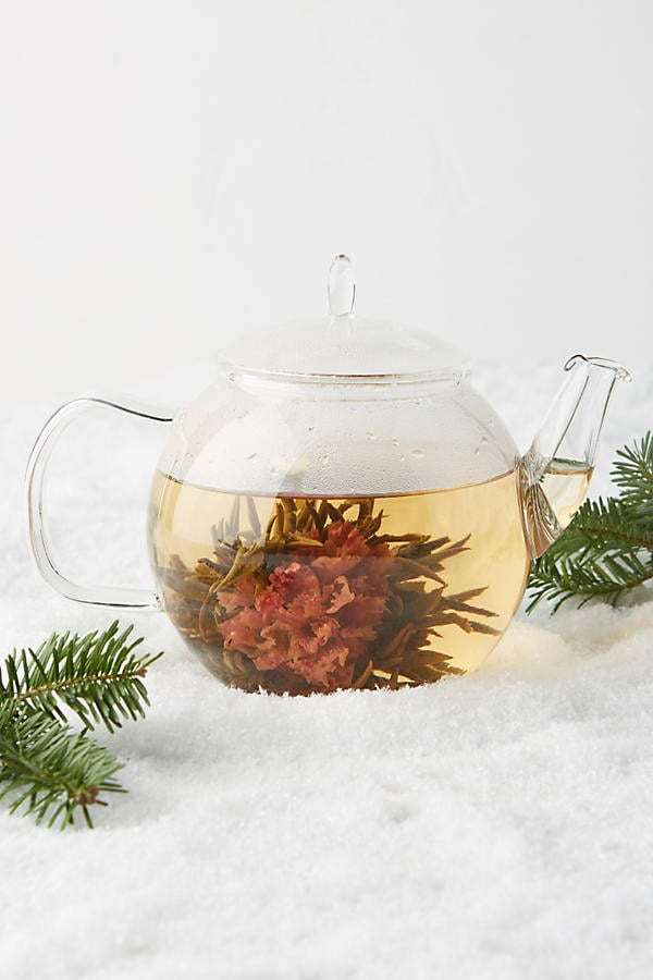 Blooming Tea and Teapot