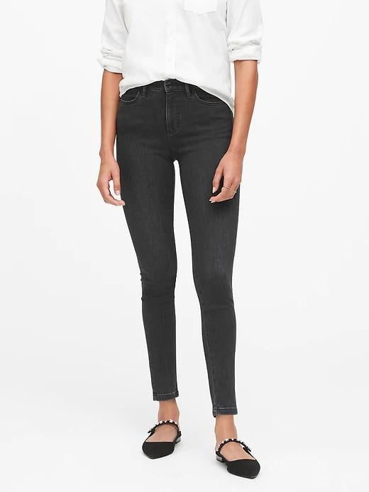 High-Rise Legging Jeans