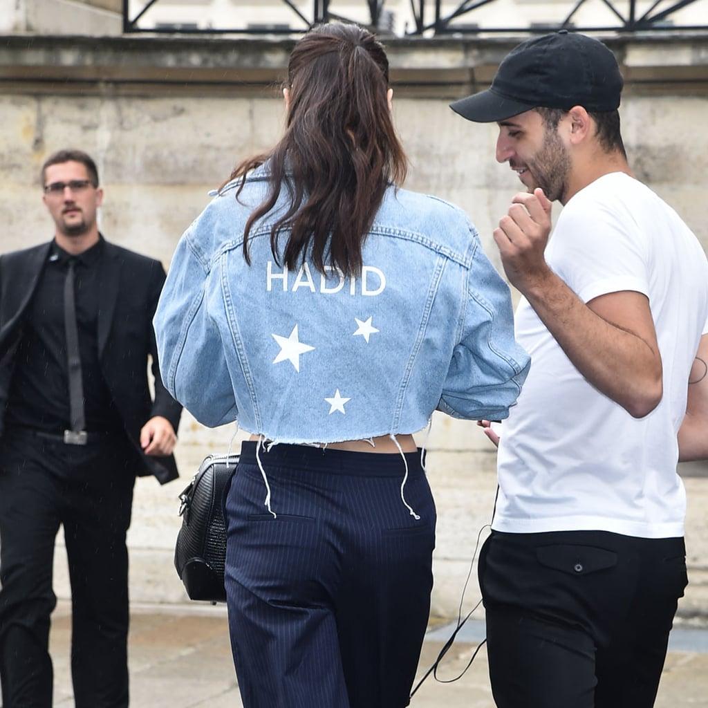Bella Hadid's Jean Jacket