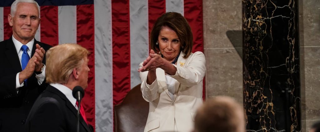 "Nancy Pelosi's ""Baby Shark"" Clap at State of the Union 2019"