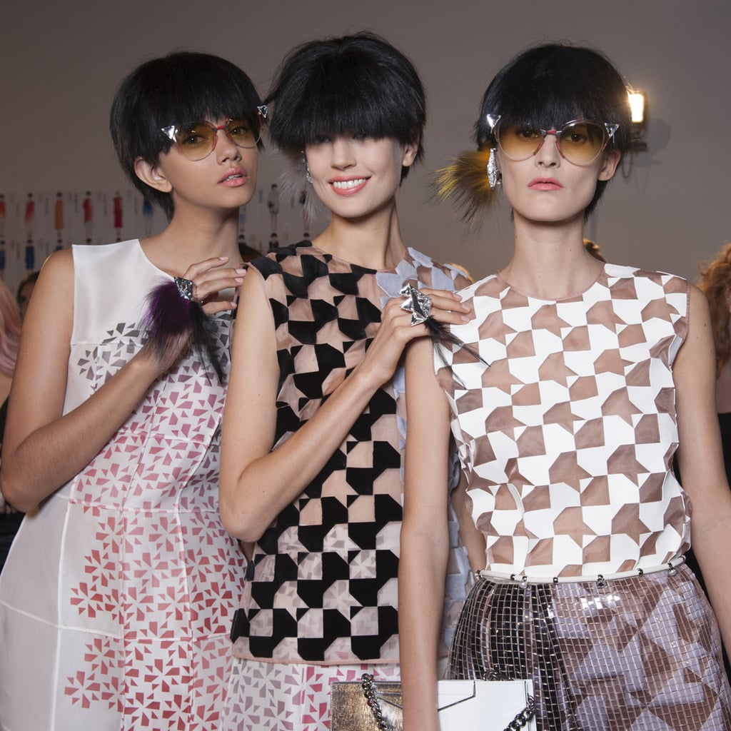 Beauty at Fendi 2014 Milan Spring Fashion Week