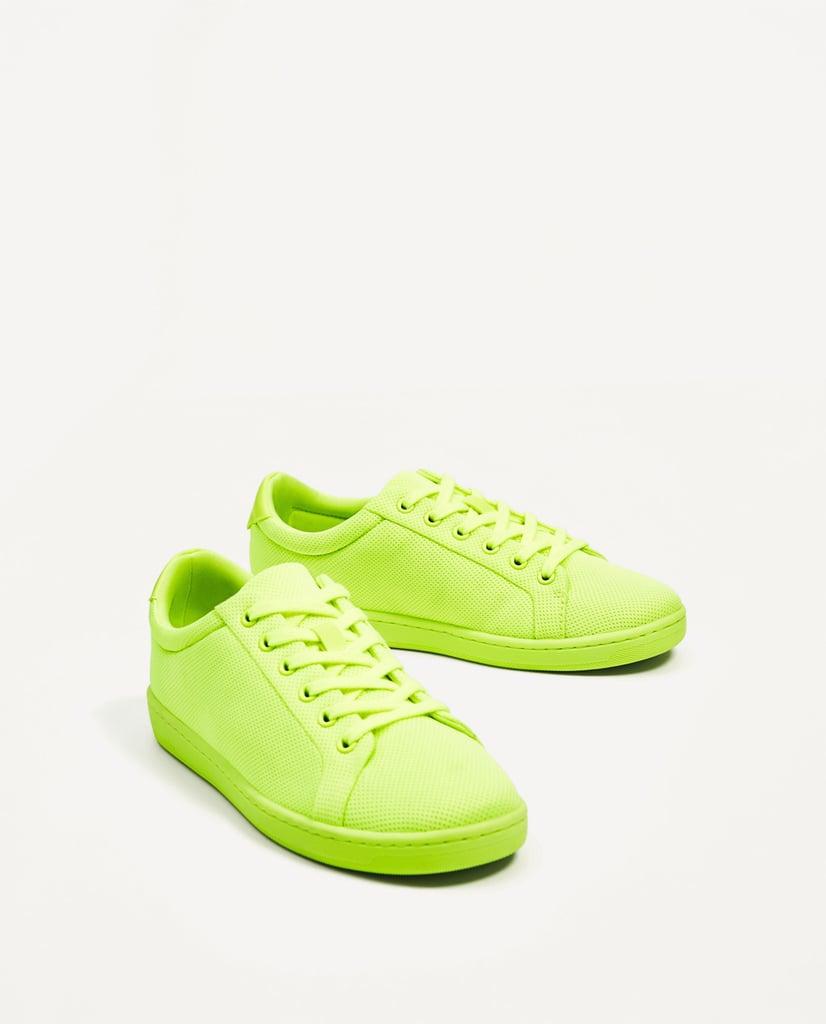 Zara Single Colour Sneakers