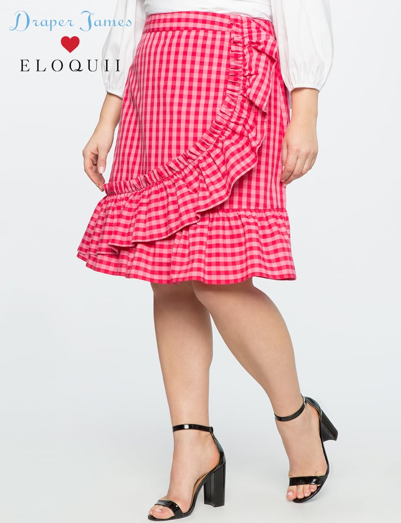 2c9178d3763c7 Draper James for Eloquii Gingham Skirt