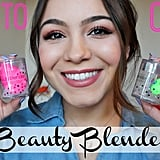 How to Wash & Store Your Beautyblender With MirellaBelleBeauty