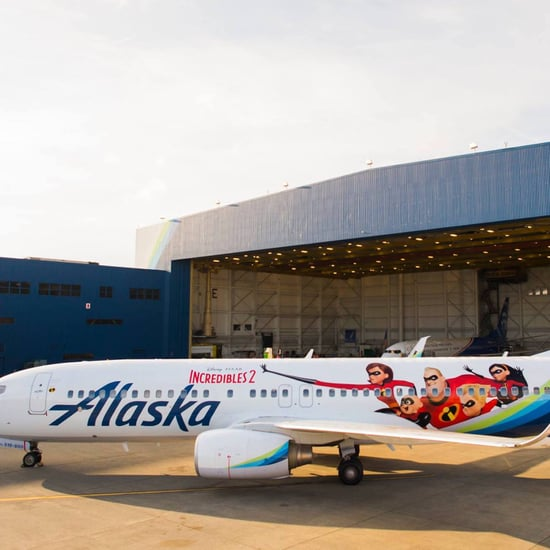Alaska Airlines Incredibles 2 Plane