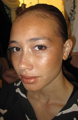 Makeup at LaQuan Smith 2010 Fall New York Fashion Week