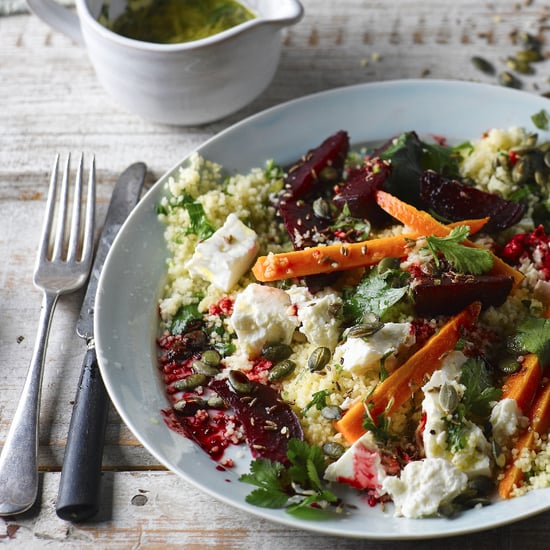 Superfood Salad With Beetroot and Feta Cheese