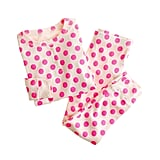 This bright polka-dot sleep set ($43, originally $53) will make bedtime fun!