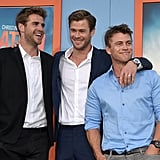 The Hemsworth brothers made an appearance together at the LA premiere of Vacation in July 2015.