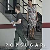 Ryan Gosling and Eva Mendes in LA Pictures April 2018