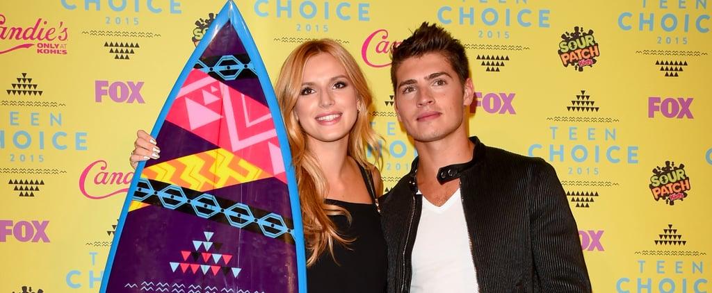 Bella Thorne and Gregg Sulkin PDA 2015 Teen Choice Awards
