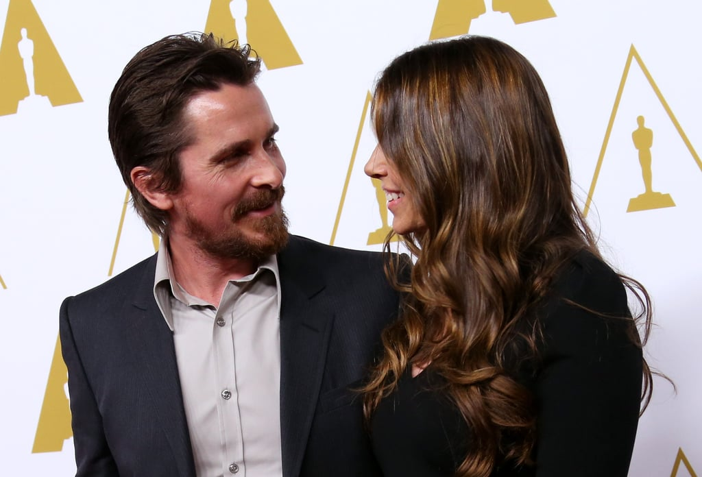 Last week, Christian gave Sibi the look of love at the Oscar Nominees Luncheon in LA.