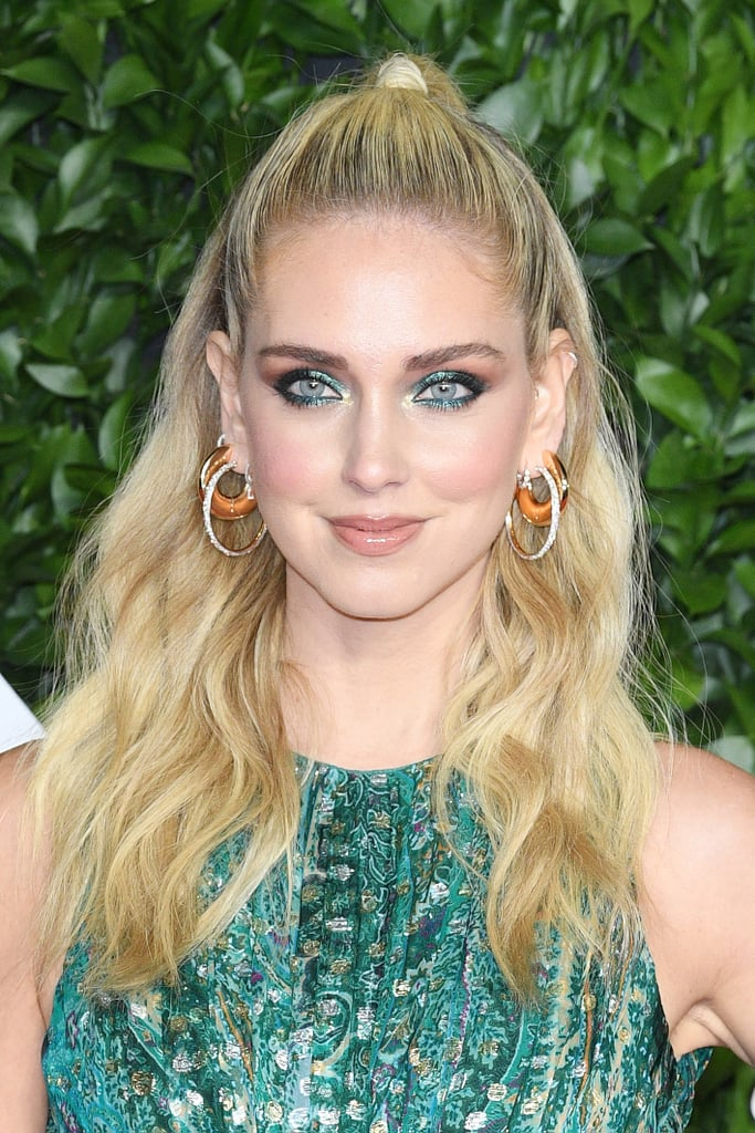 Chiara Ferragni's Jewel-Tone Shadow