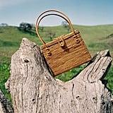 Straw Box Handle Bag