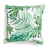 Made in India Tropical Leaves Pillow