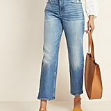 Old Navy Extra High-Waisted Distressed Boyfriend Straight Jeans
