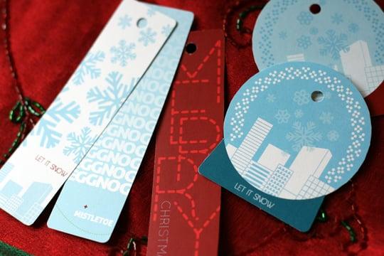 Holiday City Gift Tags