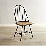 Windsor Metal Hoop Dining Chair ($160)