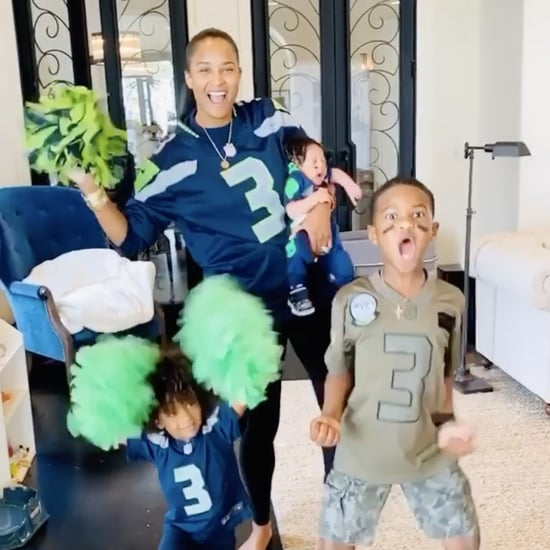 Ciara's Kids Supporting Russell Wilson on NFL Game Day