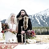 The Bride in This Game of Thrones Wedding Looks as Badass as the Mother of Dragons