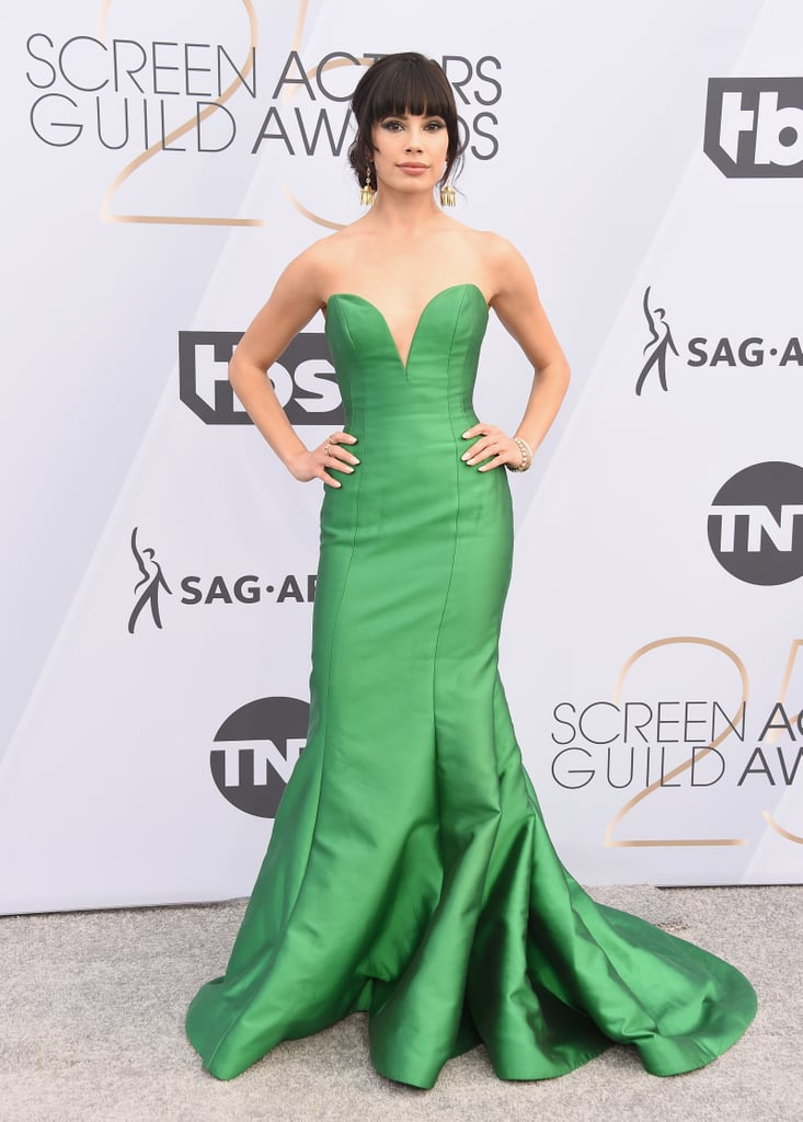 Jenna Lyng Adams at the 2019 SAG Awards
