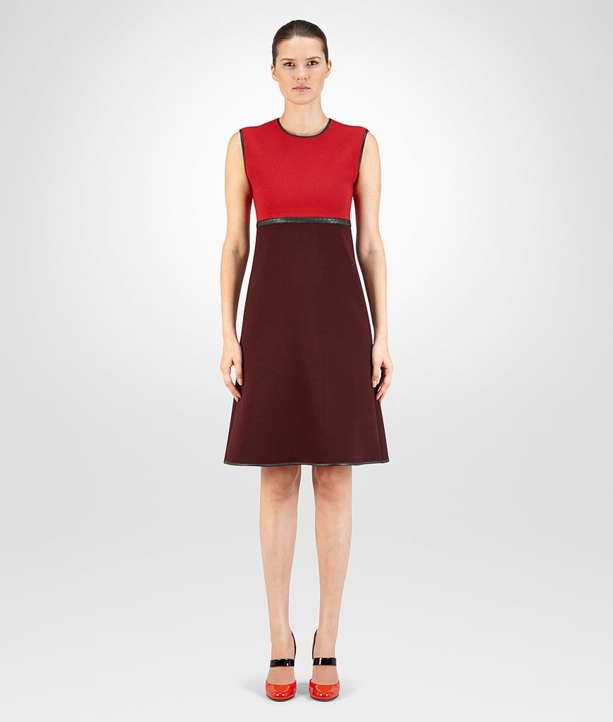 Bottega Veneta Dress in China Red Barolo Technical Crepe ($1,990)